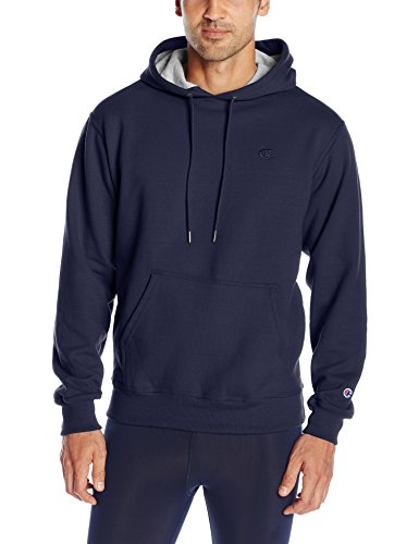 Champion Men's Powerblend Pullover Hoodie, Navy, XX-Large