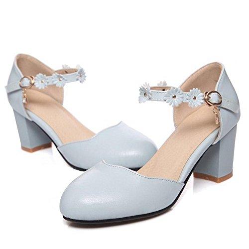 Blue Comodo Mujer Zapatos Coolcept Sandalias xIZ0aw5qZU