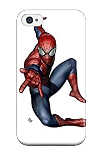 Carroll Boock Joany's Shop New Style 6366972K93370107 First-class Case Cover For Iphone 4/4s Dual Protection Cover Spider-man