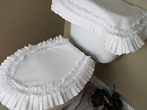 Toilet Cover All White