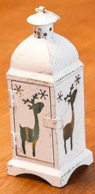 JustNile Christmas Lantern Candle Holder - Deer