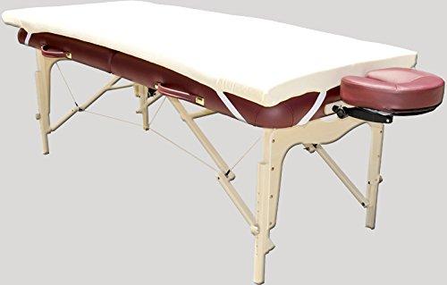 Therapist's Choice Memory Foam Massage Table Topper (Massage Table Not Included) by Therapist's Choice