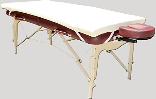 Therapist's Choice Memory Foam Massage Table Topper (Massage Table Not Included)