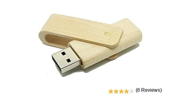Bambú Eco 16 GB - Memoria Almacenamiento de Datos – USB Flash Pen Drive Memory Stick - Madera Marrón: Amazon.es: Informática