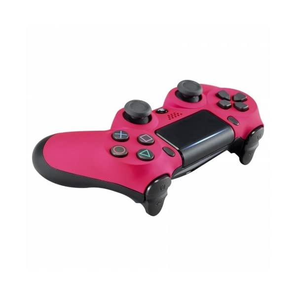 OC Gaming PS4 Dualshock Playstation 4 Controller Custom Soft Touch New Model JDM-040 (Pink) 4