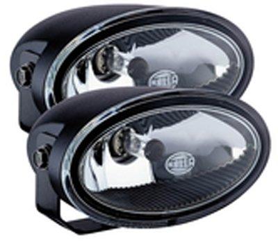 Hella Ff50 Light Kit (HELLA 74321 FF50 Series 12V/55W Clear Halogen Fog Lamp Kit)