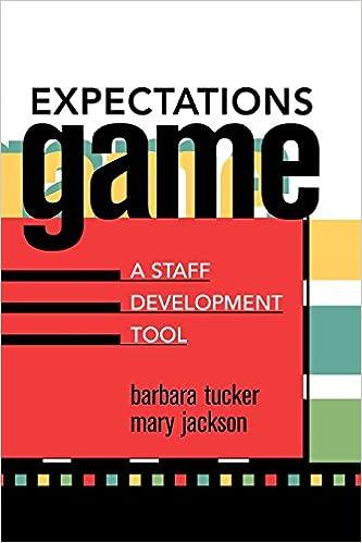Ebooks for ipods gratis nedlasting Expectations Game: A Staff Development Tool by Barbara Tucker PDF ePub 1578861144