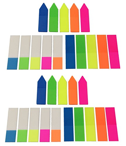 neon-page-marker-colored-index-tabs-flags-assorted-bright-colors-fluorescent-sticky-note-for-marking