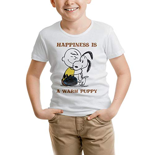 TablincoT Boys' Anime Symbol Print t-Shirts Short Sleeve Light Weight Tees 100% Organic Cotton for -