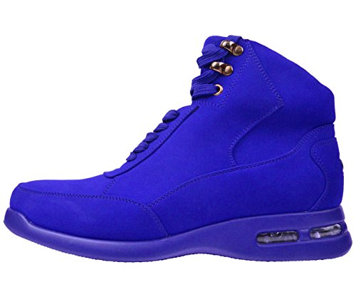 Colored with Boot Sio Mens George Bottom Matching Blue Casual Nubuck Air wxHOwqYa6