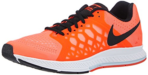 Nike Men's Air Zoom Pegasus 31 Running Shoes Orange/Black...