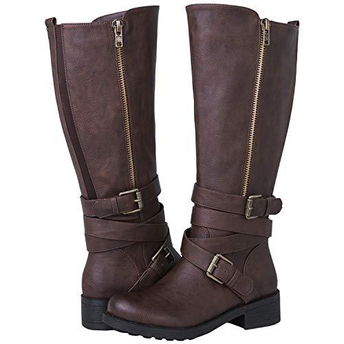 5fc32782c36f GLOBALWIN Women s 18YY06 Brown Fashion Boots 9M