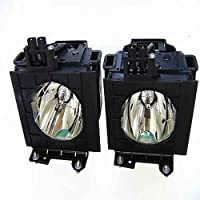CTLAMP Projector ET-LAD55LW (Dual Lamps) Replacement Lamp with Housing for Panasonic PT-D5500 (Dual)/PT-D5500U (Dual)/PT-D5500UL (Dual) Projector