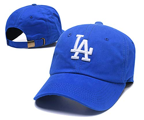 Logo Hat Baseball Adjustable (JOE JOURNEYMAN MLB Team Los Angeles Dodgers Classic Logo Adjustable Flex Hat Baseball Cap (Los Angeles Dodgers/, One Size))