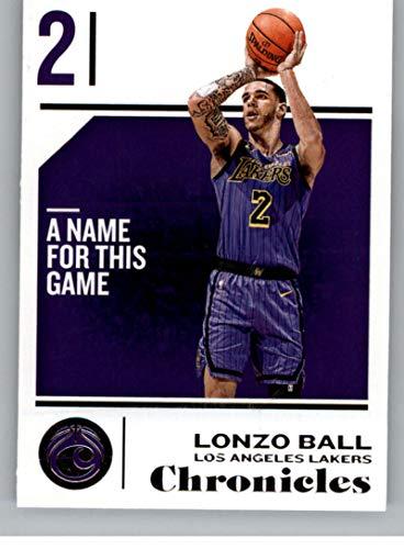 2018-19 Panini Chronicles #69 Lonzo Ball Los Angeles Lakers Basketball Card (Best Panini Los Angeles)