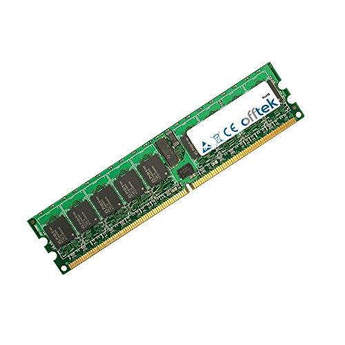 - 1GB RAM Memory 240 Pin Dimm - 1.8v - DDR2 - PC2-3200 (400Mhz) - ECC Registered - OFFTEK