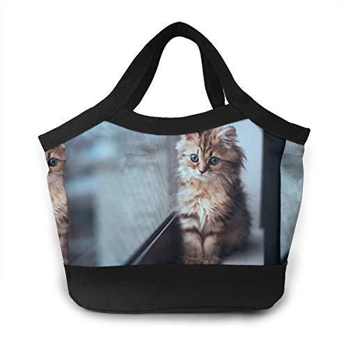 JHNDKJS Widescreen Lunch Bag Insulated Lunch Box Cooler Bag for Women Men Adults Work ()