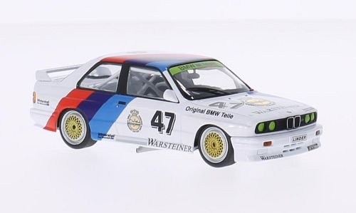 bmw-m3-e30-no47-bmw-m-team-linder-warsteiner-etcc-zolder-1987-model-car-ready-made-minichamps-143