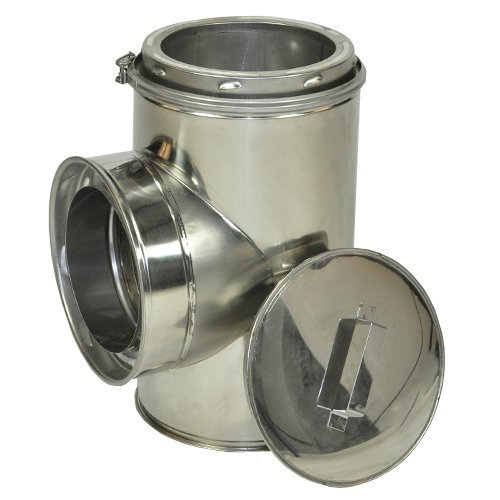 6 inch stove pipe t - 5