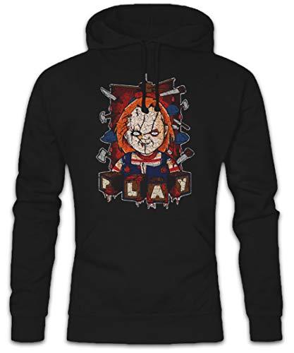 Urban Backwoods Play Hoodie Hooded Sweatshirt Sweater Black]()