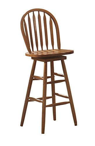 Woodlawn Arrow Back Bar Stool Oak for sale  Delivered anywhere in USA