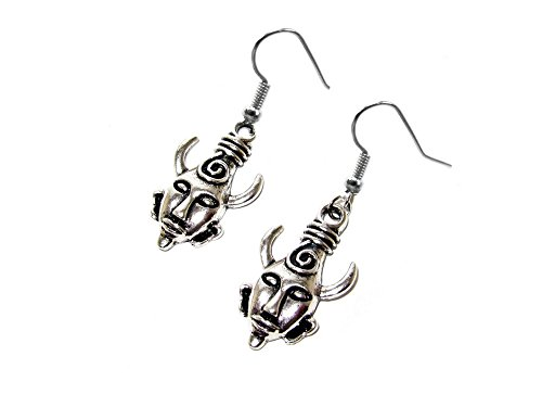 Supernatural Dean's Pendant Dangle Earrings Gift Box