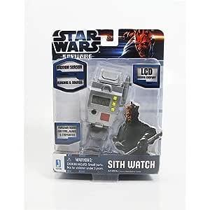 Star Wars Software espía Sith Reloj de pulsera juguete idea ...