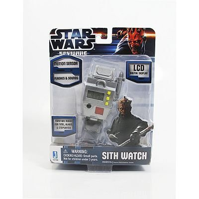 Star Wars Software espía Sith Reloj de pulsera juguete idea de regalo cumpleaños por Star Wars software espía SITH reloj de pulsera juguete idea de regalo ...