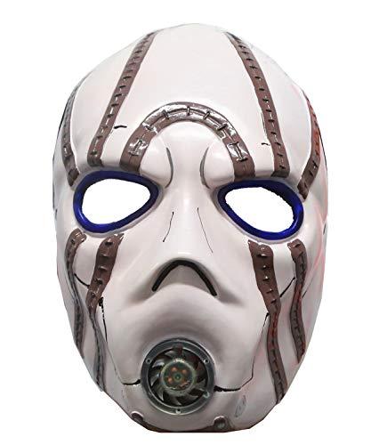 (Borderlands Mask Psycho Resin Durable Cosplay Halloween Costume Accessory)
