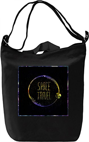 Space Traveler Borsa Giornaliera Canvas Canvas Day Bag| 100% Premium Cotton Canvas| DTG Printing|