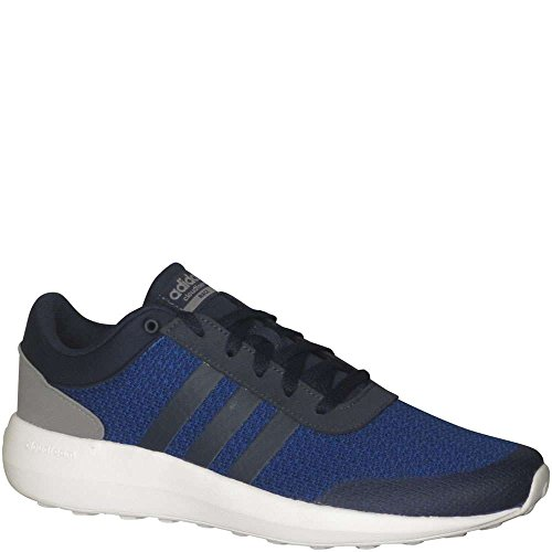 Adidas Neo Mens Cloudfoam Race Running Scarpa Collegiata Navy / Collegiale Navy / Royal