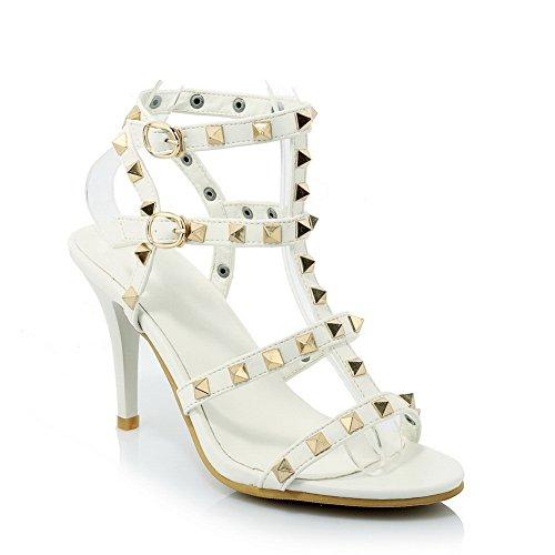 Weiß Sandalen 35 Adee Damen Größe fE5qW0w