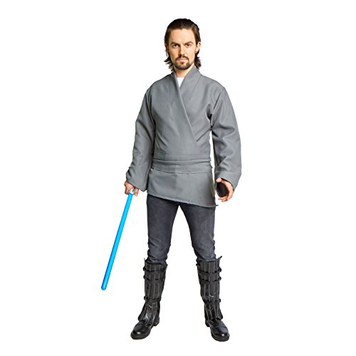 Men's Jedi Sith Tunic Costume (Large, (Adult Jedi Costume Accessory)