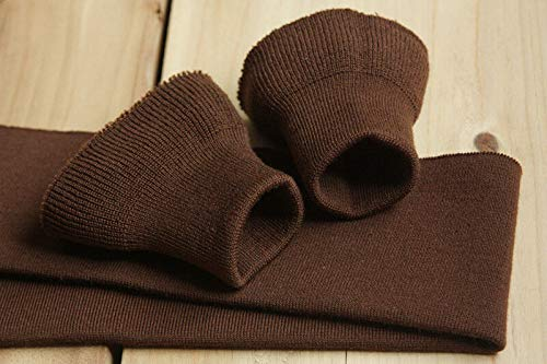 FidgetKute Wool Cuff Waistband A2 N1 B10 Jacket Accessories 3 Colors Dark Brown by FidgetKute