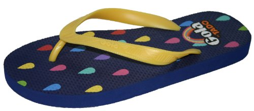 Gola Tado Design Women's Girls Flip Flops Sandal Pool Shoes Size 4-8 Yellow
