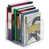 Waleu 10170001 Organizador de Livros, Cristal