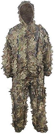偽装服 アウトドアユニセックス狩猟迷彩ジャングル迷彩ワンサイズフィット高さ5.5〜6.2フィート 男女兼用 (Color : Multi-colored, Size : M)
