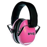 Snug Kids Earmuffs /Mejores protectores auditivos: diademas ajustables para el oído para niños y adultos (rosa)