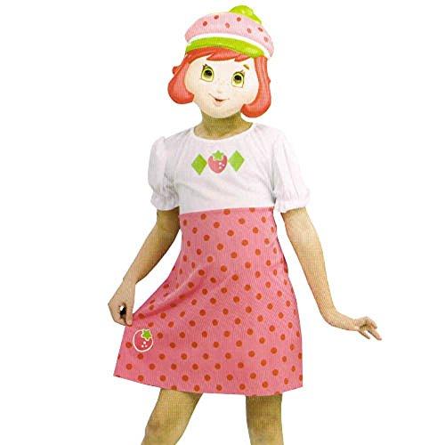 Strawberry Shortcake Costume Dress w/Mask Set (2pc) -