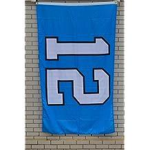 Fyon Large 12TH Man Light Blue Flag 3X5Ft