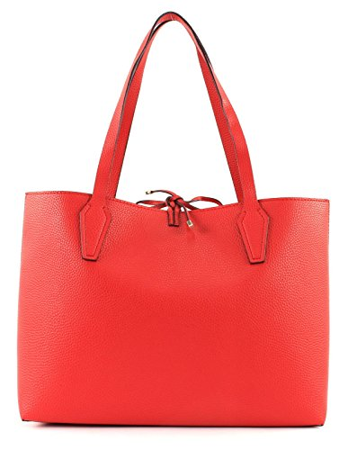 GUESS Bobbi Inside Out Tote Red / Tan y6RrKAnC87