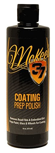 McKee's 37 MK37-250 Coating Prep Polish, 16 fl. oz