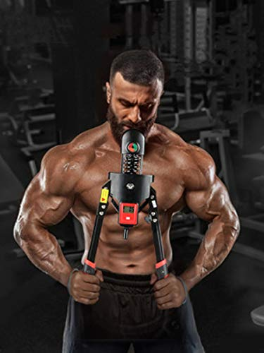 Fitlaya Fitness Adjustable Power Twister Arm Exerciser Home Gym Forearm Exerciser Bicep Blaster Chest Expander Training Fitness Equipment for Upper Body Workout (max 350 lbs)