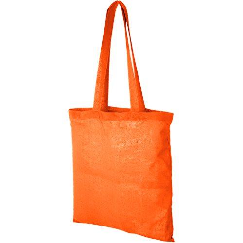Bullet Bolso Tote de algodón modelo Carolina Naranja