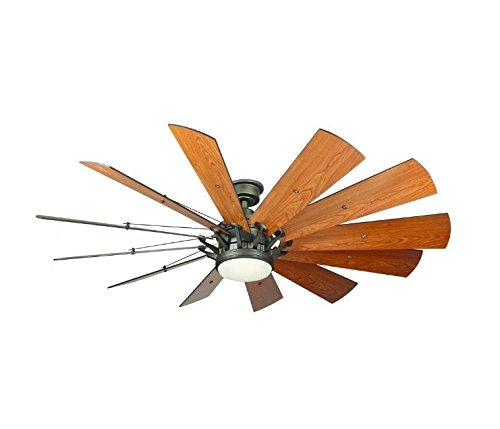 Home Decorators Trudeau 60' LED Espresso Bronze Ceiling Fan