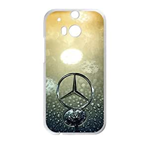 Cheerful Benz sign fashion cell phone case for HTC One M8 by ruishername