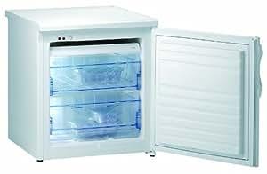 Gorenje F4078W - Congelador, con indicador de temperatura, armazón de control con luz de indicadora (A+, 53 l, ), color blanco
