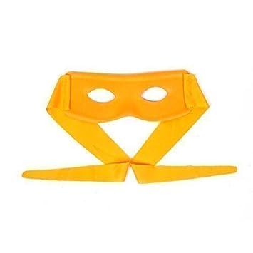 Ninja Estilo Mascarilla Cara - Naranja: Amazon.es: Juguetes ...