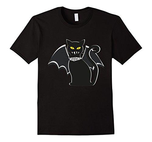 Mens Halloween Vampire Bat Cat scary funny 3XL (Vampire Cat Costume For People)