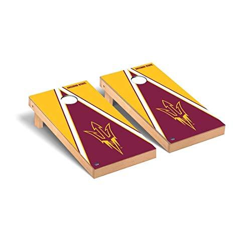 Victory Tailgate Arizona State ASU Sun Devils Regulation Cornhole Game Set Triangle Version - Arizona State Tailgate